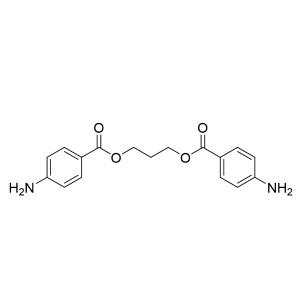 Trimethyleneglycol di(p-aminobenzoate) TDS